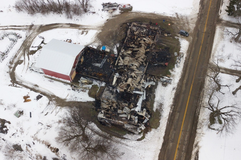 LOCAL FARM FIRE: How You Can Help