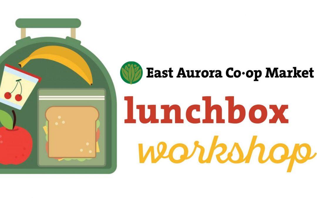 Lunchbox Workshop – Sunday, August 25
