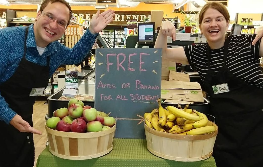 Free Fruit For Students!